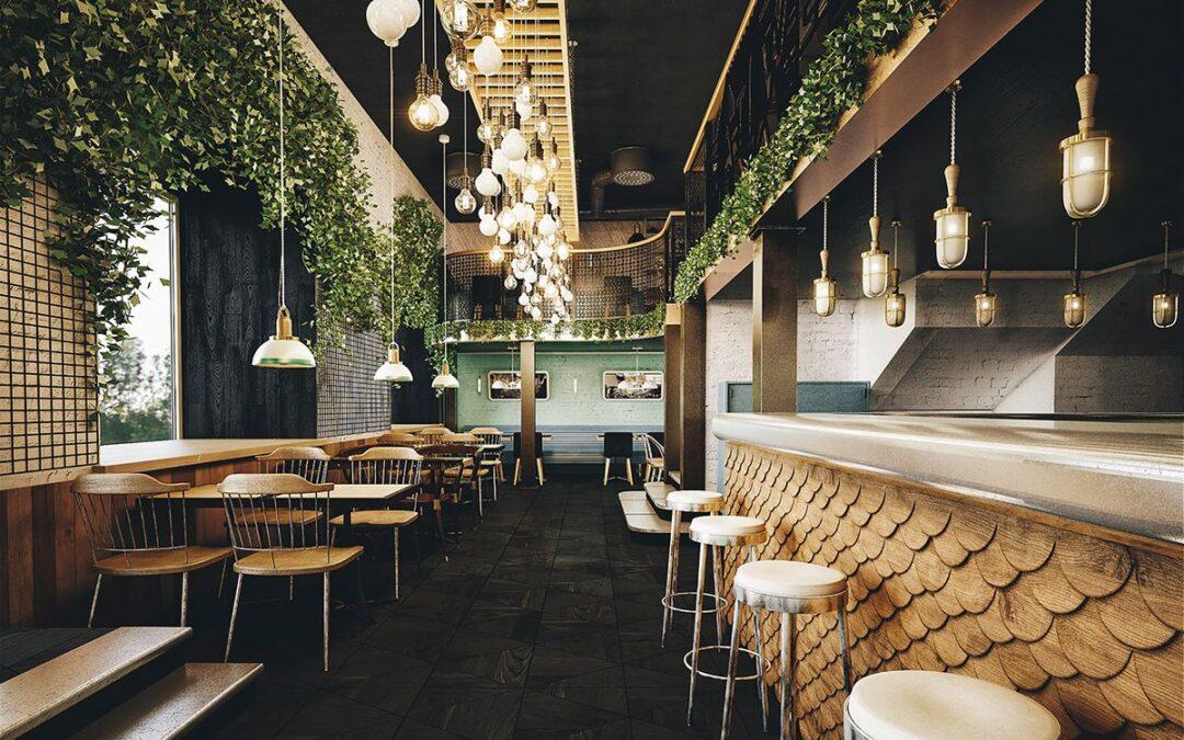 Illuminazione per i hotel, ristoranti e bar